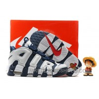 Nike Air More Uptempo OG Olympic Scottie Pippen Midnight Navy White Spirit Red 414962-401 New Release AaFEN