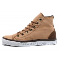 Beige CONVERSE Denim All Star Vampire Diaries High Tops Sneakers For Sale XGiee