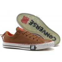 Undefeated CONVERSE All Star Tops Khaki Canvas Clear Rubber Soles Christmas Deals RKKmA
