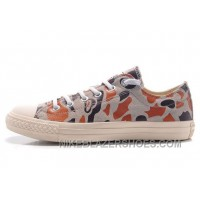 CONVERSE Suede Camouflage Grey Brown All Star Chuck Taylor Sneakers Lastest IGzs2