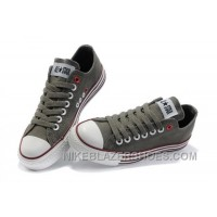 Grey CONVERSE All Star Multi Lines Tops Canvas Shoes Authentic MCCnT
