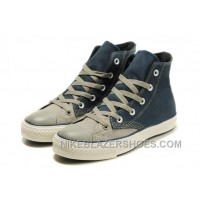 High Tops CONVERSE Christmas Collection Blue Grey Tonal Stitching Polk Canvas All Star Shoes Online KXKWP