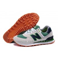 Discount Mens New Balance ML574YCG Sandy Green Shoes