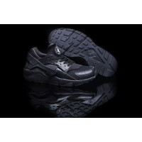 Nike Air Huarache All Black Mens Running Shoes