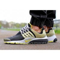 Nike Air Presto QS Brutal Honey 789870-001 Black Yellow Online R64hM
