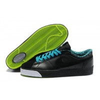 Women Nike Blazer Low Black Blue Green