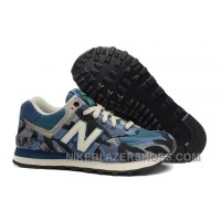New Arrival Balance 574 2016 Women Blue 212005