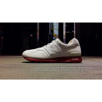 New Arrival Balance 576 Women White Red