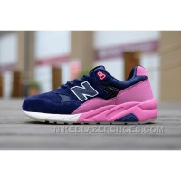 For Sale New Balance 580 Women Blue Pink
