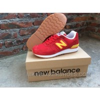 New Arrival Balance 670 Women Red